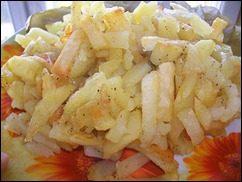 Жареная картошка: фото к шагу 5.