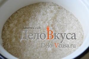 Голубцы: Рис промыть