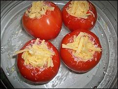 Запеченный перец, фаршированный моцареллой и крабовыми палочками – кулинарный рецепт