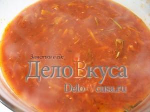 Томатный соус с белым вином