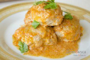 Тефтели в томатном соусе: фото к шагу 13
