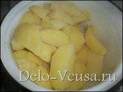 Картофельная начинка для вареников и пирожков: фото к шагу 5.