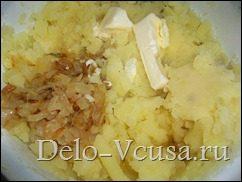 Картофельная начинка для вареников и пирожков: фото к шагу 6