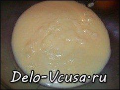 Заварной крем на молоке (основной): фото к шагу 9