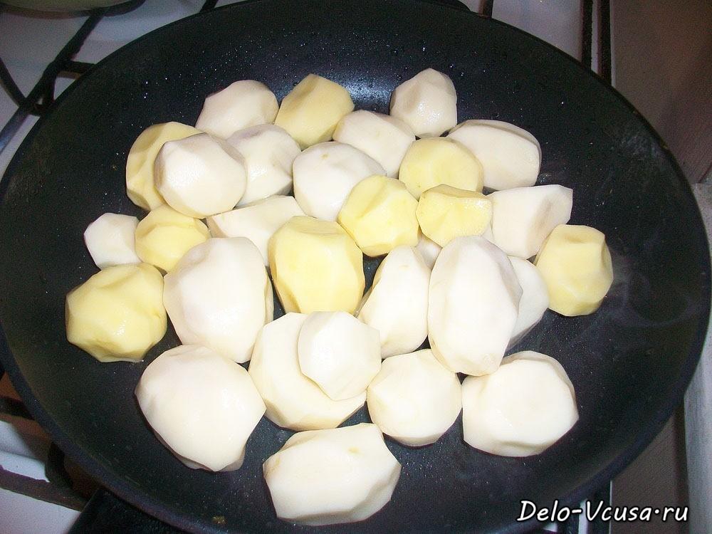 колбаски в духовке с овощами рецепт