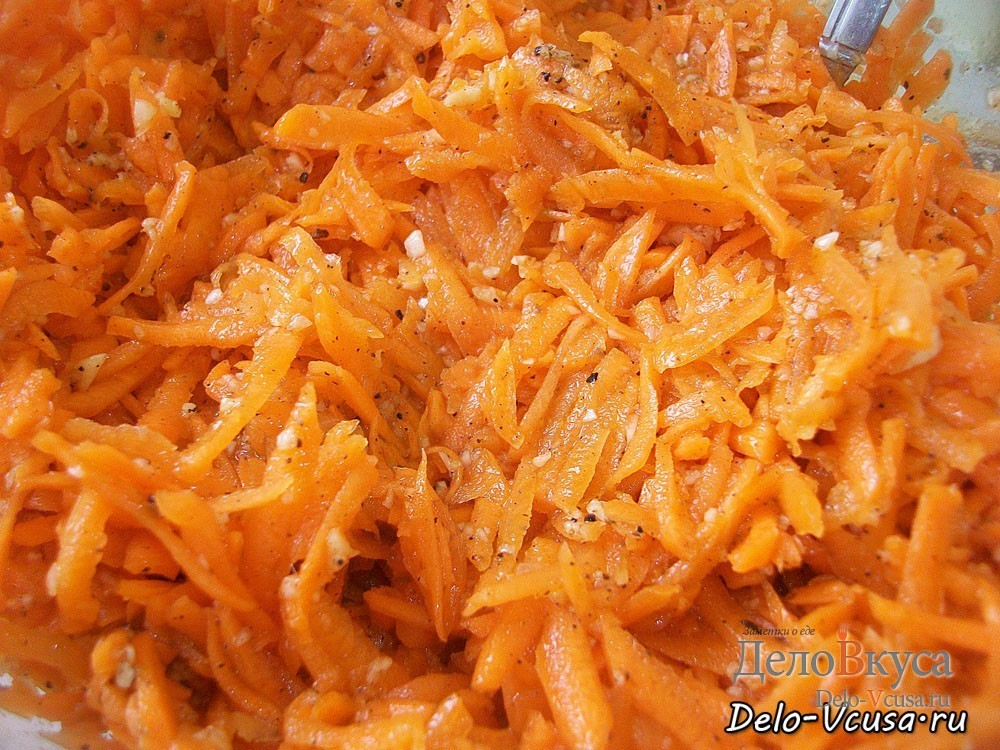 Морковка по-корейски