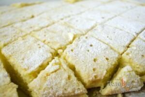 Апельсиновый пирог. Пирог с апельсинами и ванилью: фото к шагу 10.