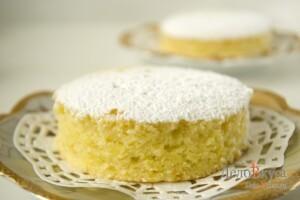 Апельсиновый пирог. Пирог с апельсинами и ванилью: фото к шагу 11.