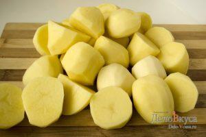 Вареники с картошкой: Картошку очистить