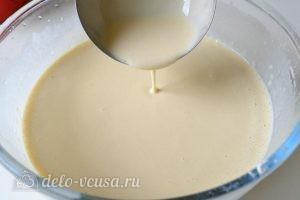 Блины на молоке: Вот такое тесто должно получиться
