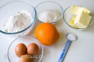 Апельсиновые кексы маффины: Ингредиенты