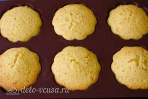 Апельсиновые кексы маффины: фото к шагу 11.