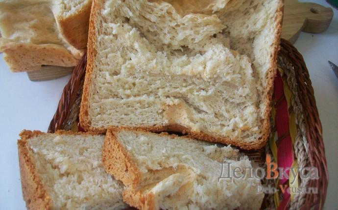 Хлеб ржаной с сыром в хлебопечке