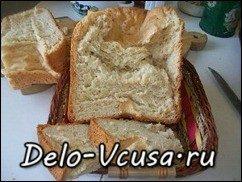 Хлеб ржаной с сыром в хлебопечке: фото к шагу 7