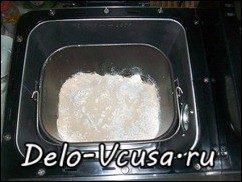 Пампушки с чесноком. Рецепт теста для пампушек в хлебопечке: фото к шагу 2.