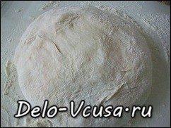 Пампушки с чесноком. Рецепт теста для пампушек в хлебопечке: фото к шагу 4.