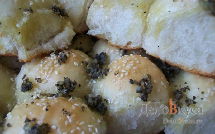 Пампушки с чесноком. Рецепт теста для пампушек в хлебопечке