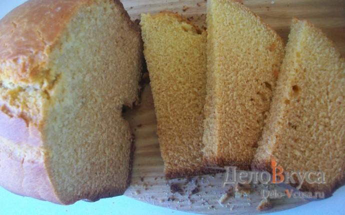 Хлеб кукурузный в хлебопечке