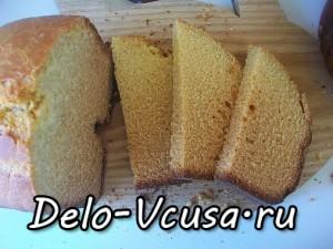 классический кукурузный хлеб