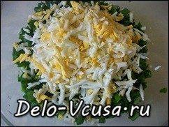 Салат из черемши: фото к шагу 5