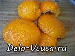 Апельсиновые цукаты рецепт: фото к шагу 1
