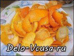 Апельсиновые цукаты рецепт: фото к шагу 4