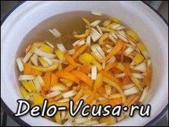 Апельсиновые цукаты рецепт: фото к шагу 6