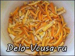 Апельсиновые цукаты рецепт: фото к шагу 8