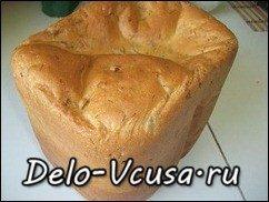 Хлеб белый с чесноком и зеленью (рецепт для хлебопечки): фото к шагу 9.