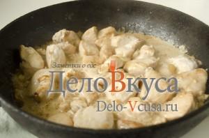 Куриное филе в соусе: