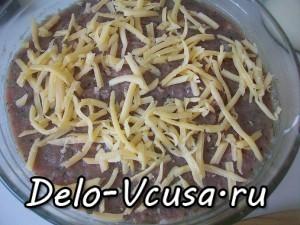 Картофельная запеканка с мясным фаршем и твердым сыром: фото к шагу 11.
