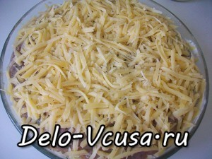 Картофельная запеканка с мясным фаршем и твердым сыром: фото к шагу 13.