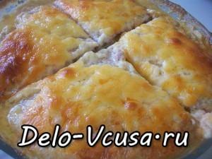 Картофельная запеканка с мясным фаршем и твердым сыром: фото к шагу 15.