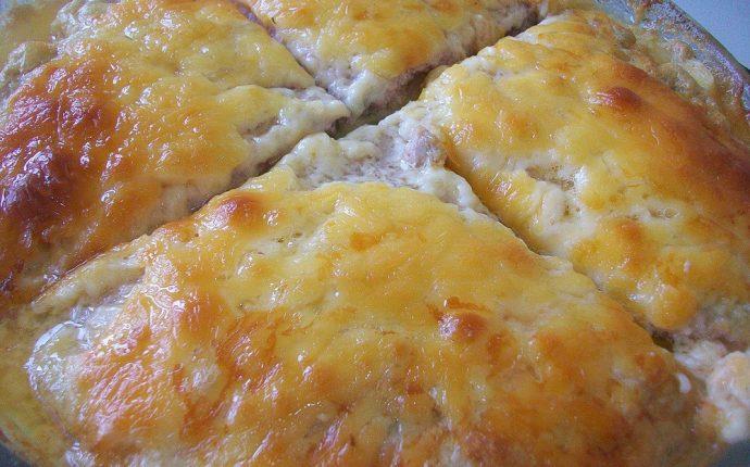Картофельная запеканка с мясным фаршем и твердым сыром: фото к шагу 16.