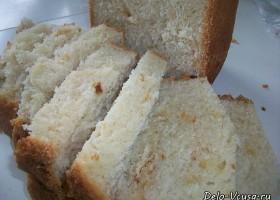 Белый хлеб в хлебопечке (луковый)