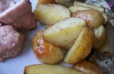 картошка запеченая в духовке