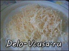 Запеканка из баклажан с сыром Пармезан и соусом Бешамель: фото к шагу 5.