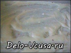 Запеканка из баклажан с сыром Пармезан и соусом Бешамель: фото к шагу 6.