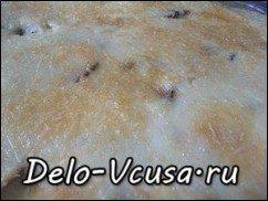 Запеканка из баклажан с сыром Пармезан и соусом Бешамель: фото к шагу 10.