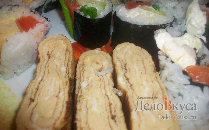 Рецепт тамаго (томаго) - японский омлет