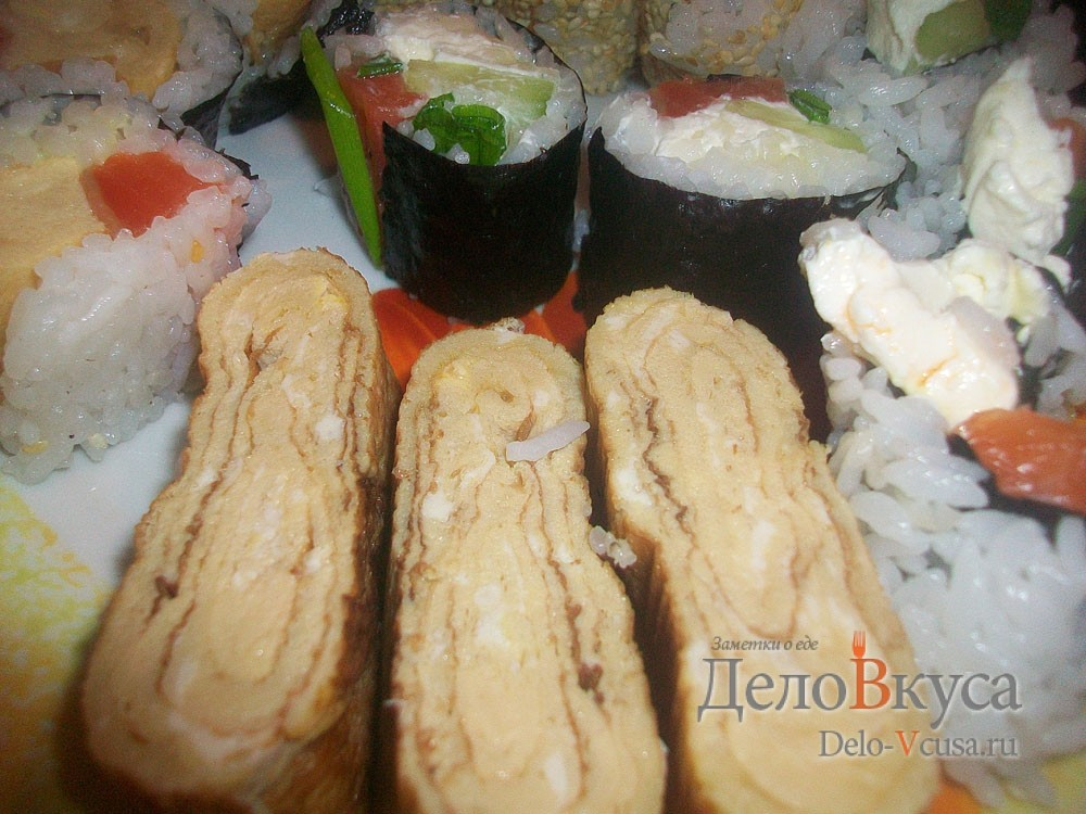 Тамаго (томаго) — японский омлет