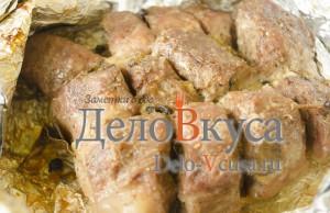 Свинина в фольге в духовке: Запекаем мясо