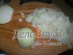 Омлет с луком и соевым соусом: фото к шагу 1