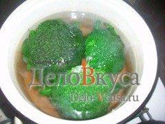 Гарнир из брокколи с оливковым маслом и винным уксусом: фото к шагу 2.