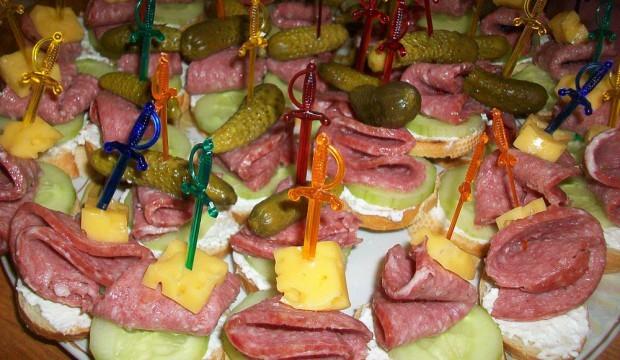 Рецепты бутербродов на праздничный стол пошагового