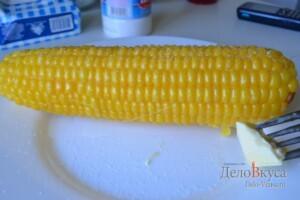 Кукуруза вареная: фото к шагу 5.