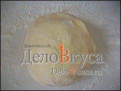 Багет в хлебопечке с сыром: фото к шагу 8.