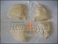 Багет в хлебопечке с сыром: фото к шагу 9.