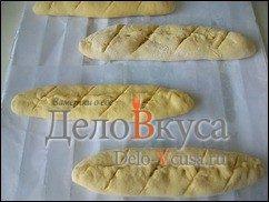 Багет в хлебопечке с сыром: фото к шагу 16.