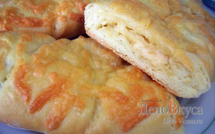 Багет в хлебопечке с сыром